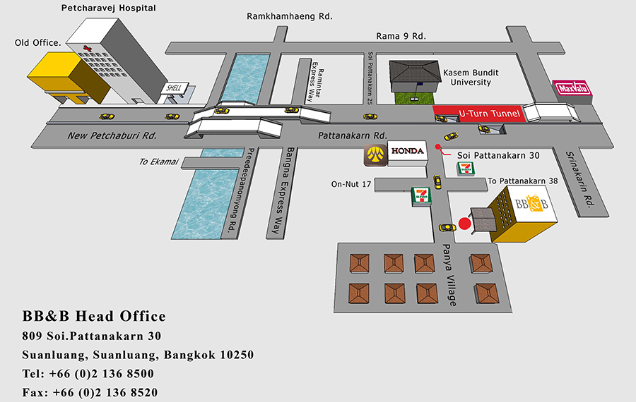 Map Bangko Beer & Beverages Co.,Ltd.