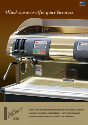 Vittoria Coffee Machine