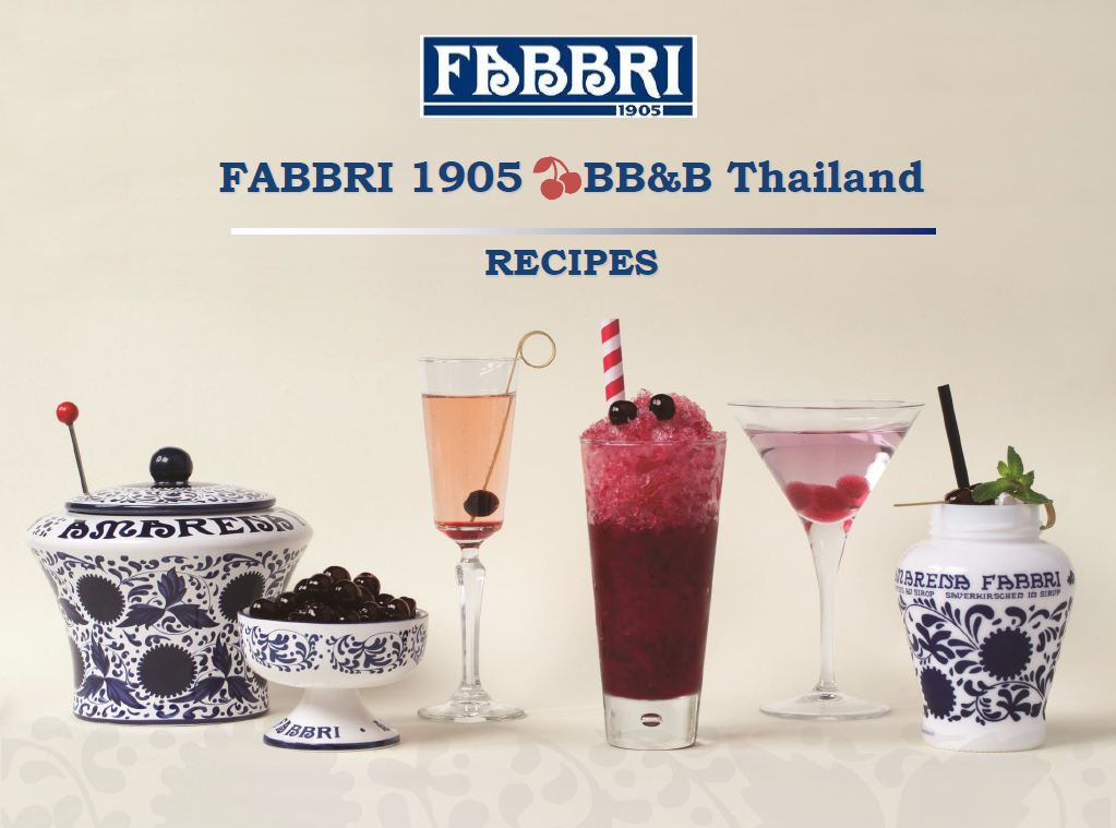 Fabbri Presentation Drinks and Recipes